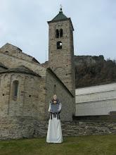 Rei Amusic i l'església romànica de  Sant Vicenç de Malla