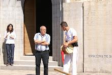 Visita d'en Sete Udina, el 7 de setembre de 2008