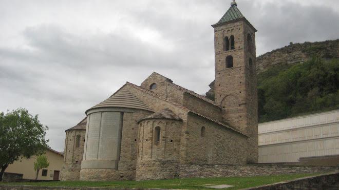 Església romànica de Sant Vicenç de Malla
