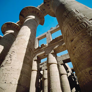 Columns In Ancient Egyptian Architecture Egypt Panorama