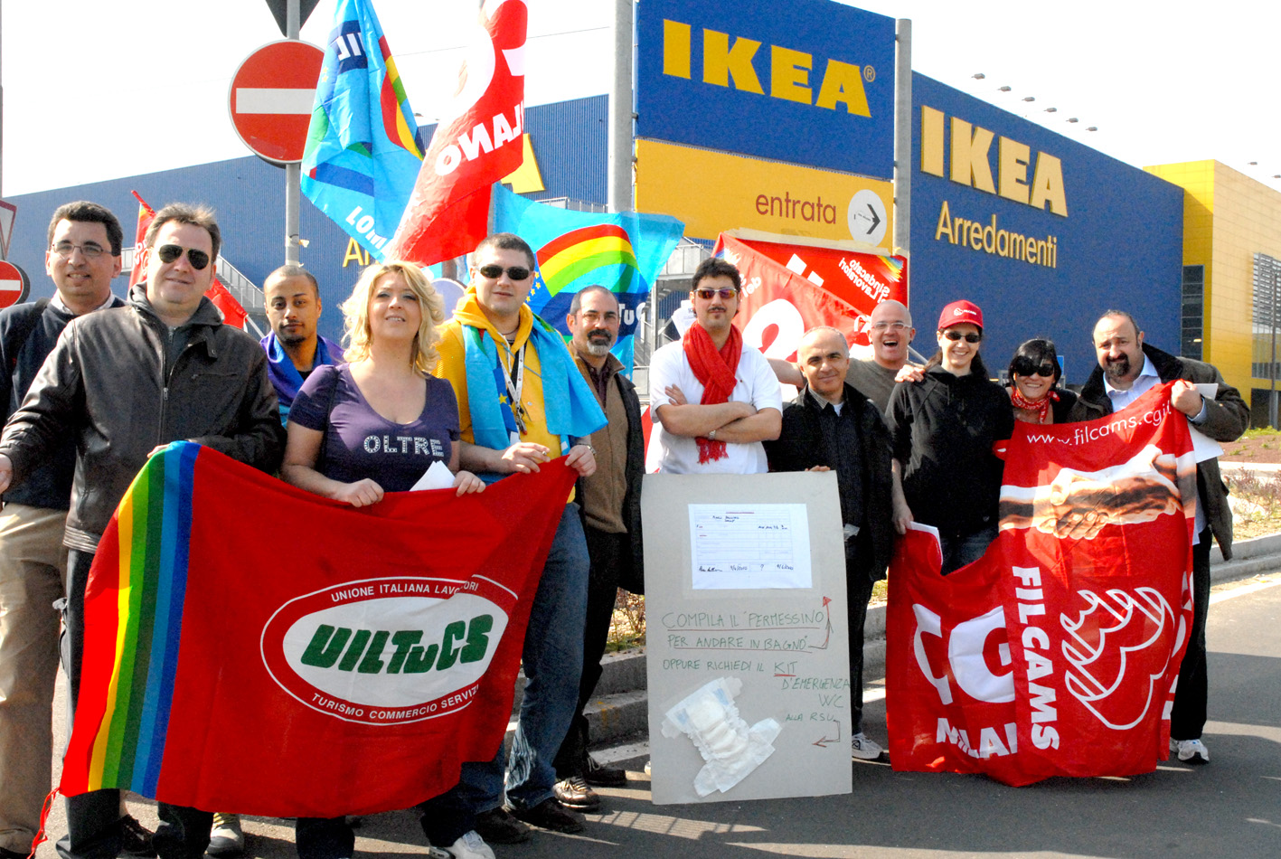 Siono il magazine blog corsico lavoratori ikea di nuovo in sciopero - Navetta per ikea corsico ...