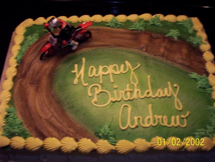 dirt bike cake - photo #32