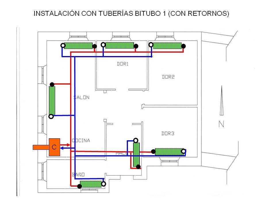 Curso mca 10 07 calefaccion - Instalacion calefaccion radiadores ...