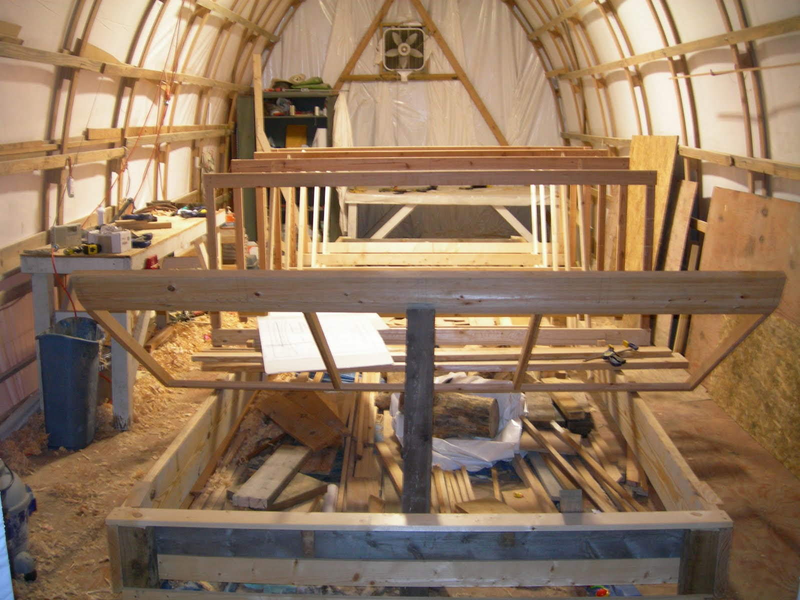 how to build a shanty boat