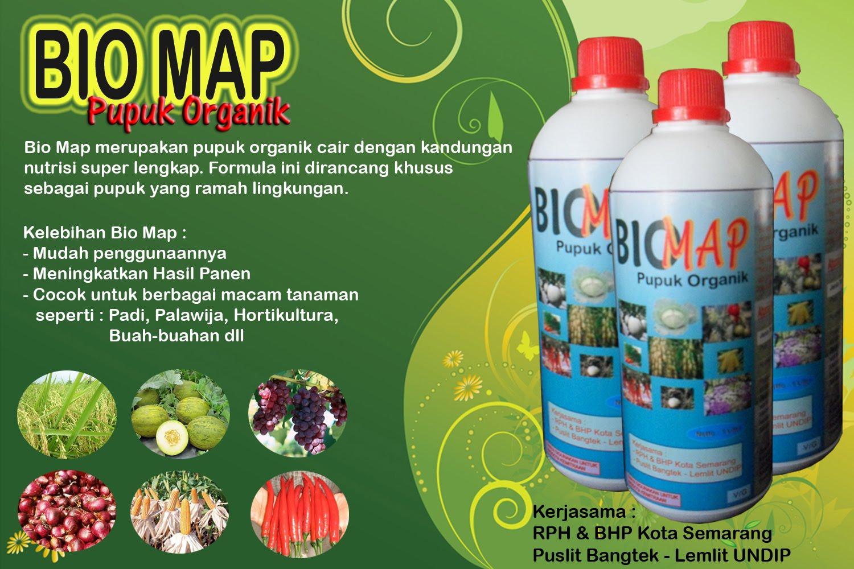 Bio map pupuk organik