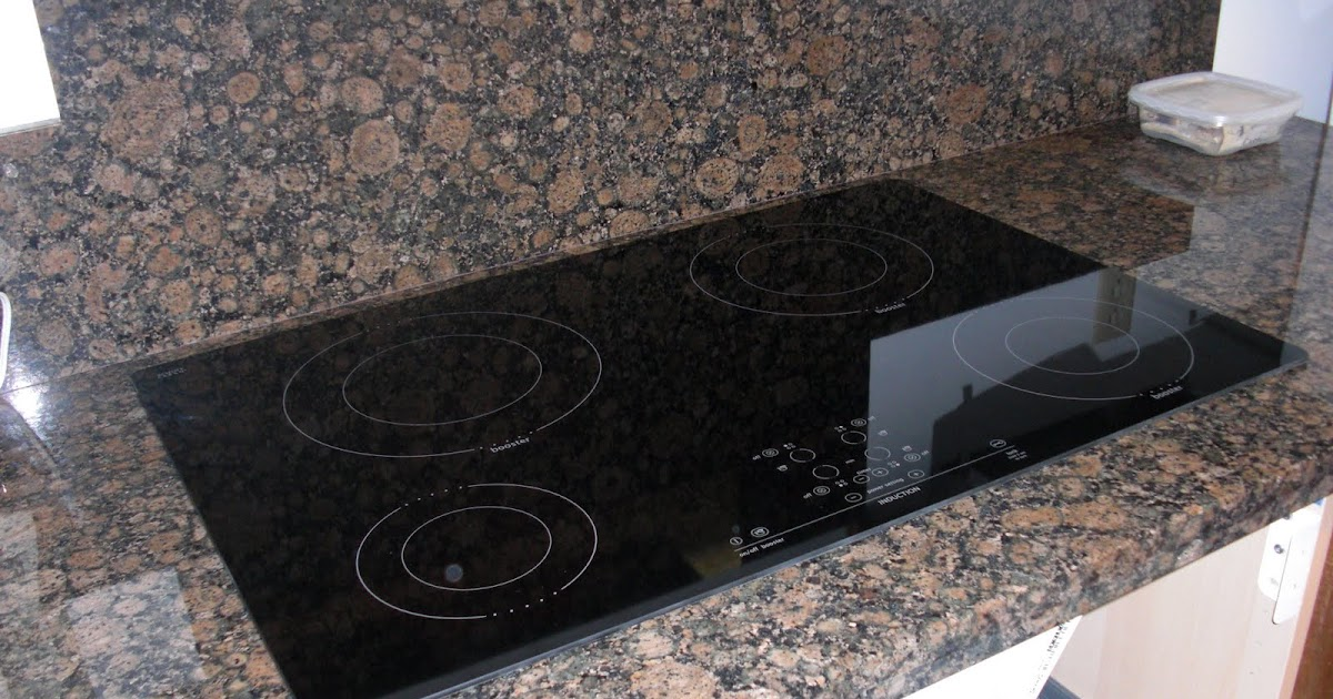 Sealing Granite Countertops Lowes : plblog: Induction cooktop installation