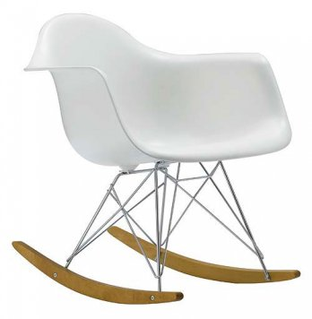 Rosie posies creations eames rocking chair for Chaise bascule eames vitra