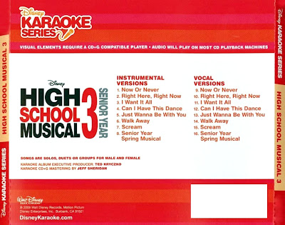 High school musical 3 - karaoke series