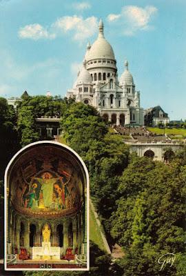 Sacré-Coeur, Montmatre, Paris