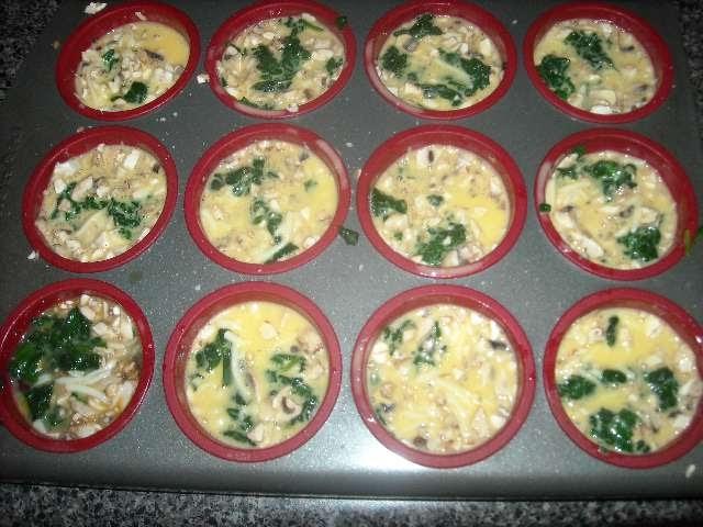 New Beautiful Me: Cheesy Egg Muffins