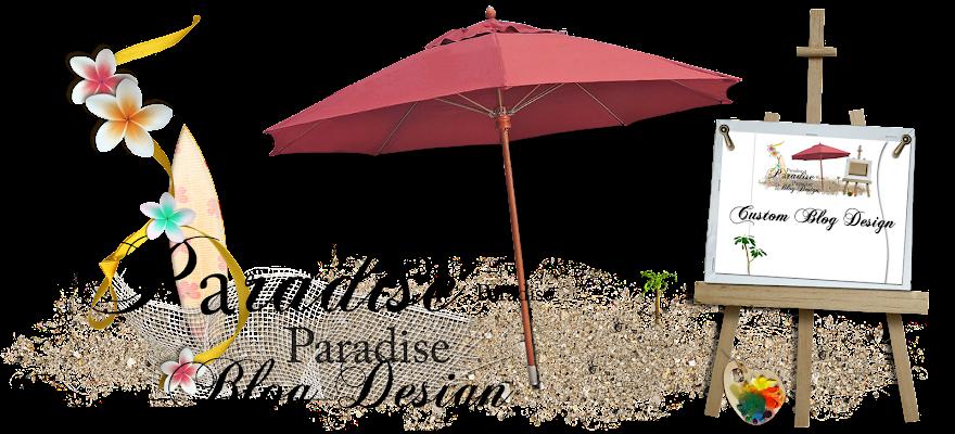 Paradise Blog Design Portfolio