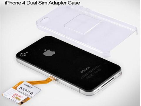 iphone 4 sim card template. One iPhone 3 with 2 SIM Cards