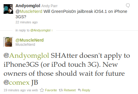 GreenPois0n no es compatible con iDevices antiguos