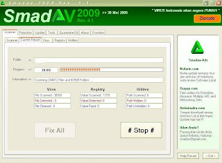 Download Smadav 2009 rev 4.1, antivirus lokal Indonesia