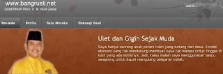 Rusli Zainal Sang Visioner, Gubernur Provinsi Riau