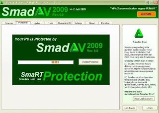 Smadav 2009 rev.5, Antivirus lokal Indonesia gratis