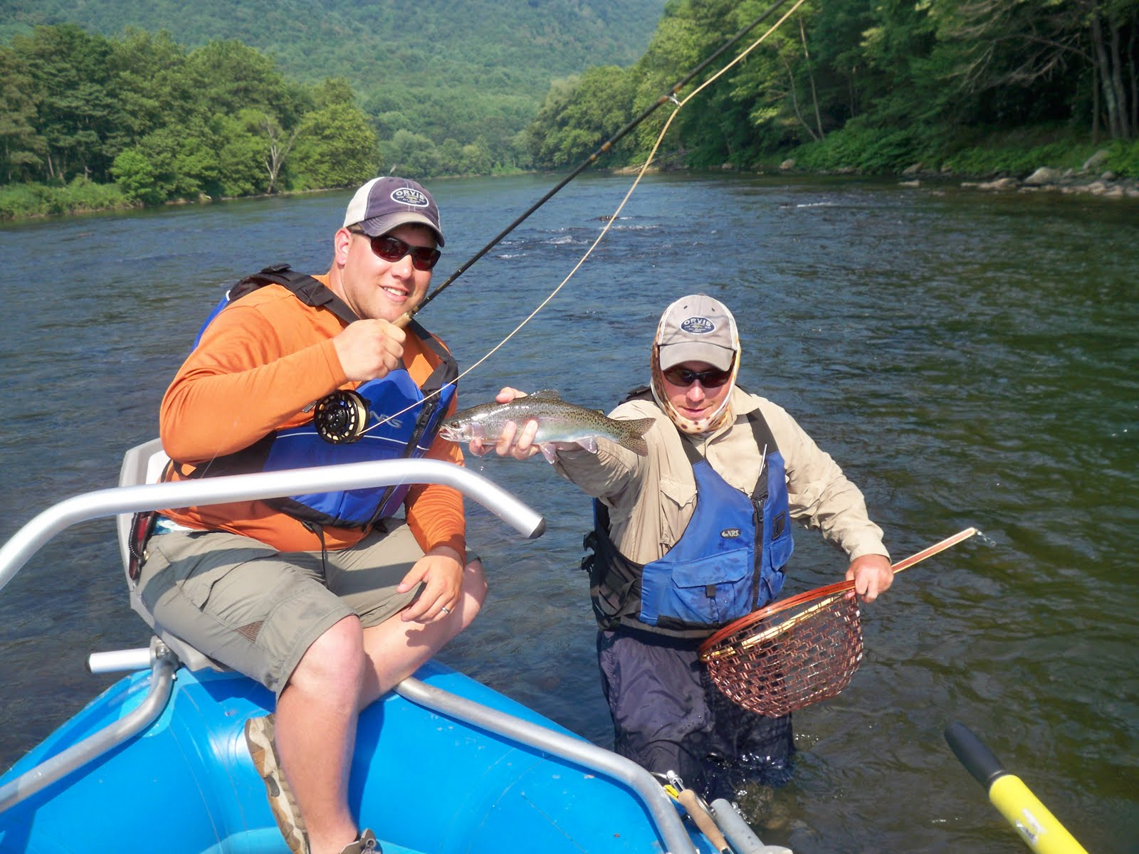 Grobe anglers and adventures float for Youghiogheny river fishing