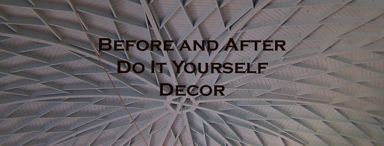 Before and After DIY Decor