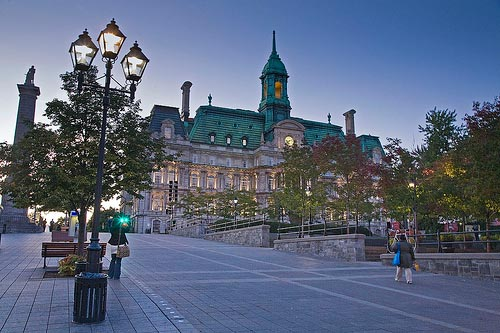Montreal Town Hall by dicktay2000