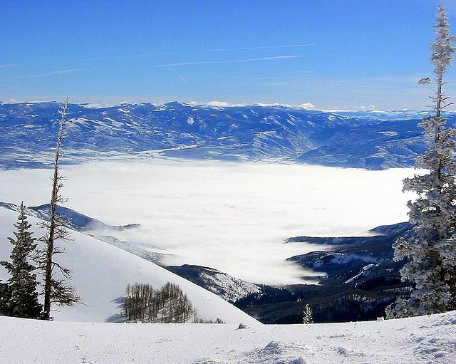 Lake Tahoe in winter by JMaz Photo