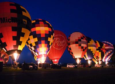 2010 Battle Creek hot air balloons