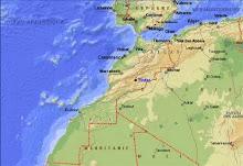 Situation géographique de Tinfat-Taliouine