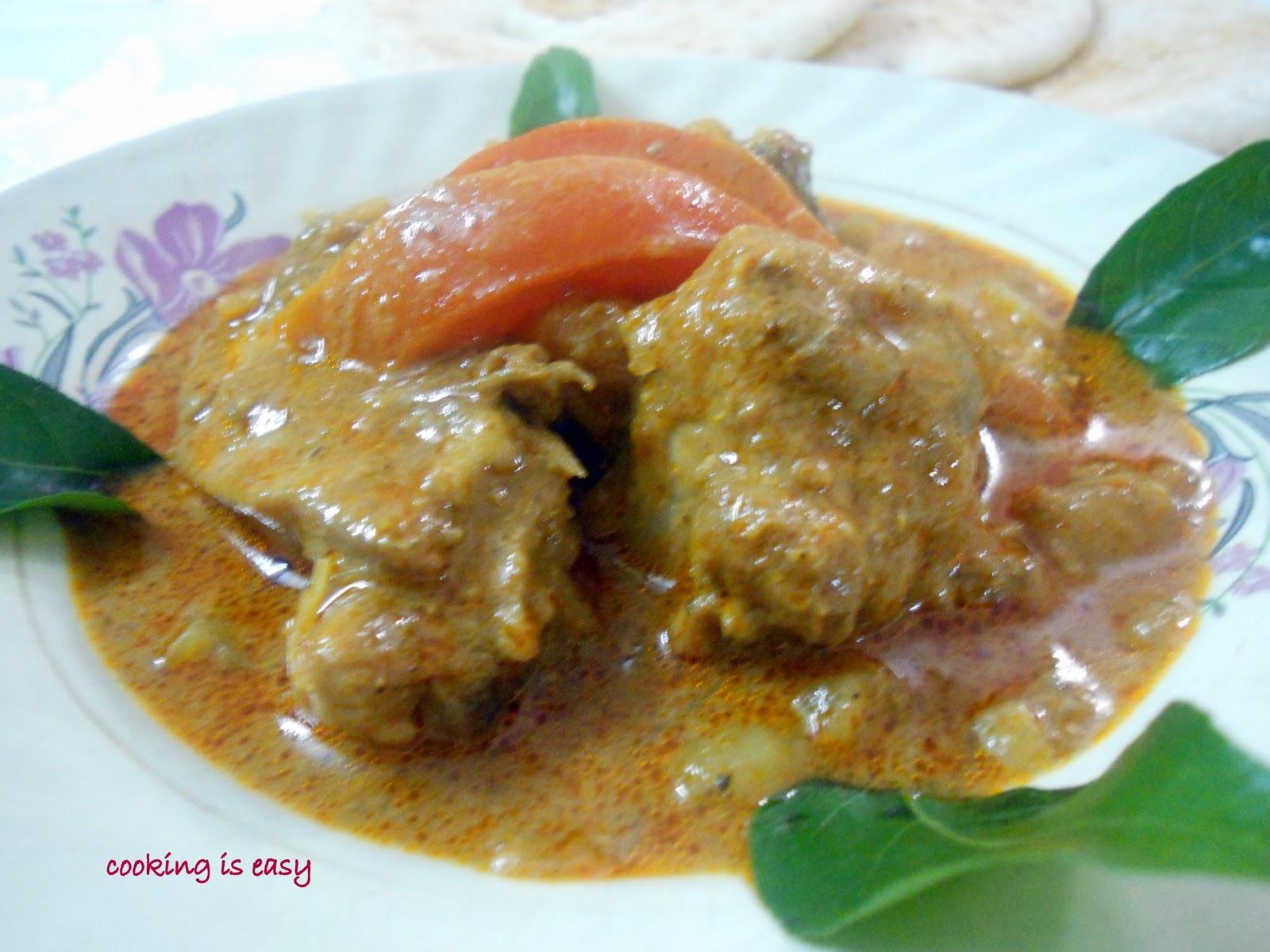 Chicken mappas (chicken curry in coconut milk) Step-by-step method ...