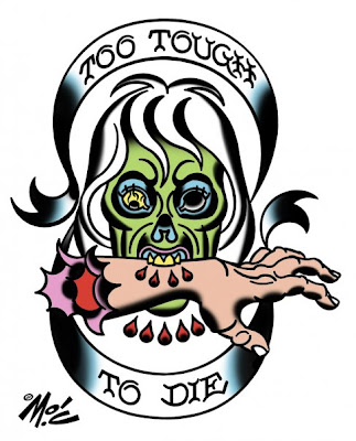 zombie tattoo designs on today s cheerful tattoo design is another from the zombie temp tattoo ...