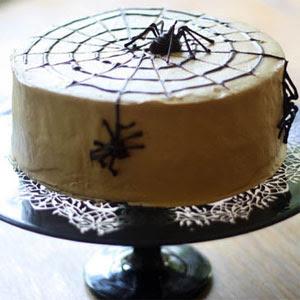 Halloween Marble Cake