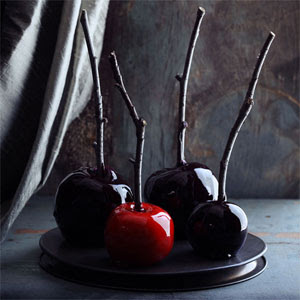 Red & Black Candy Apples