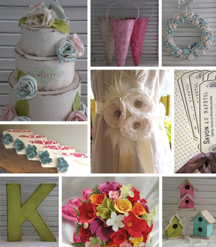 Shabby Chic Wedding Treat