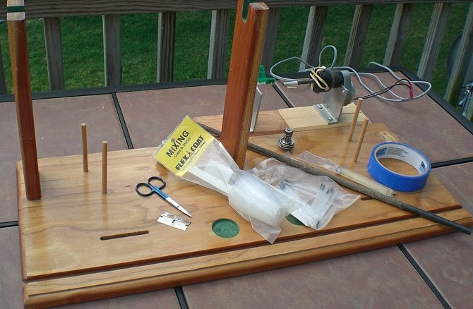 Perspicacious words building a fly rod part 2 tools for Fishing rod building tools