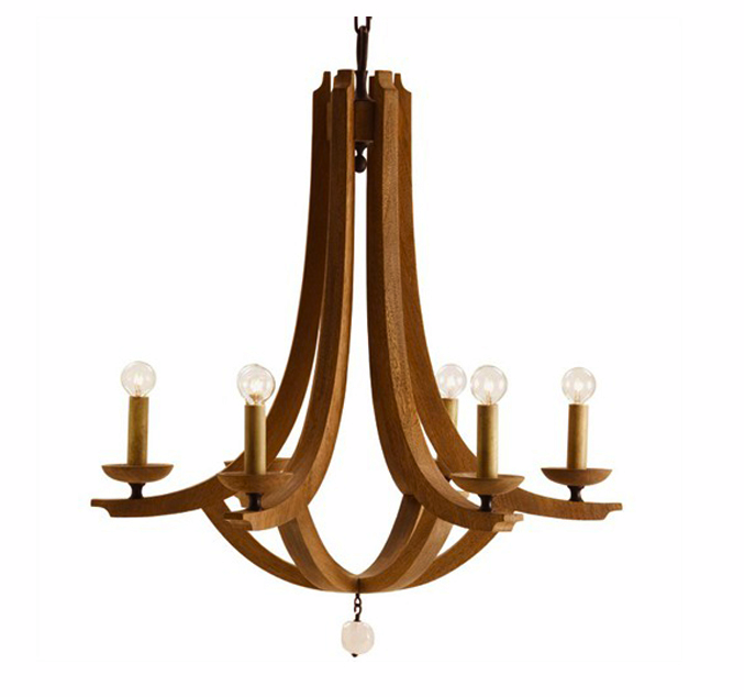 plantation design wood crystal chandelier 1 495 rustic fixture