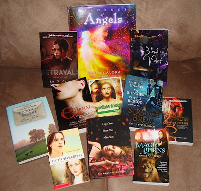In My Mailbox Books Nov 13th