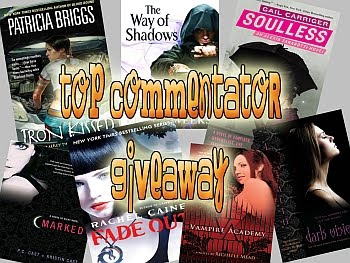 Top Commentator Giveaway