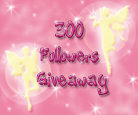 300 followers giveaway!!  ***CLOSED***