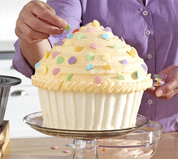 Cupcake Cake Pan Directions