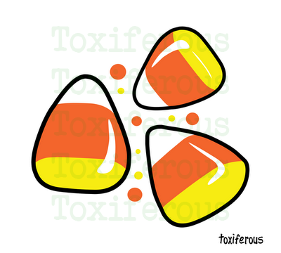 Toxiferous Designs: Cute Candy Corn T-Shirts and Gifts