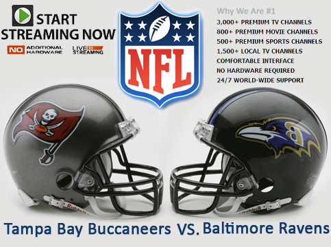 Tampa Bay Buccaneers vs Baltimore Ravens Live NFL