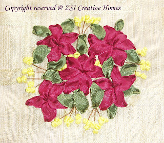 My Lovely Ribbon Embroideries