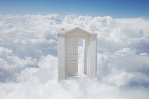 Open church door clipart - Isn T It Strange How Everyone Wants A Place In Heaven But They Don