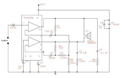 world technical 25 w bridge amplifier circuit rh worldtechnical blogspot com