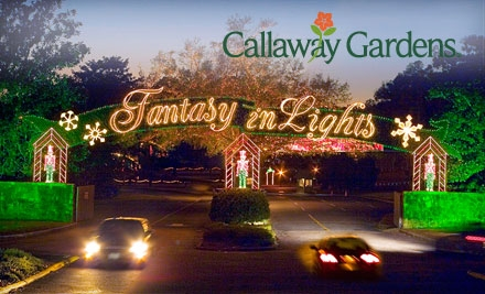 Savvy coupon clippers 24 for two tickets to callaway gardens fantasy in lights atlanta ga for Callaway gardens fantasy in lights