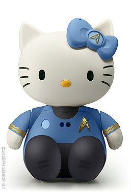 hello kitty star trek