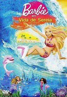 Filme Poster Barbie Em Vida De Sereia DVDRip XviD Dublado