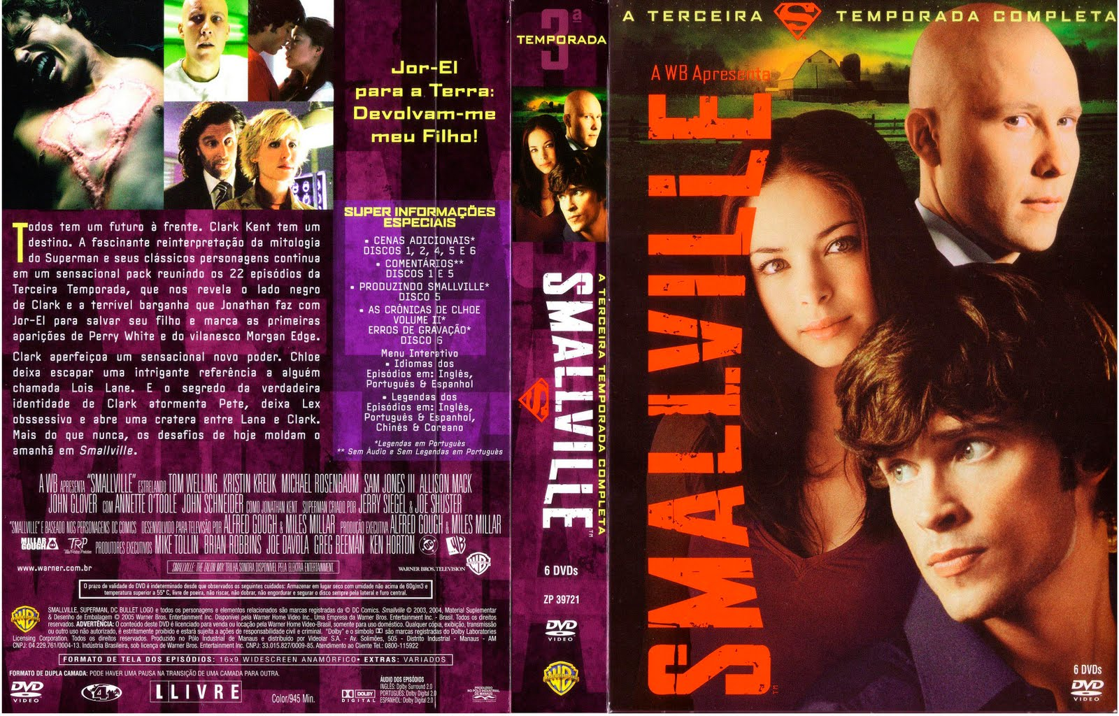 Smallville Temporada Capas thumb