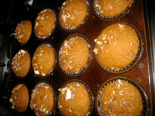 Pumpkin Muffins or Quick Bread, a quick after school snack are great in the fall.