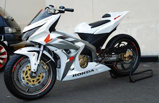 Honda Blade Modif Ceper