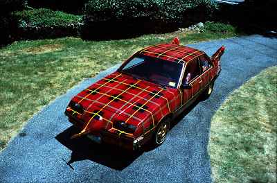 The Plaidmobile by Tim McNally