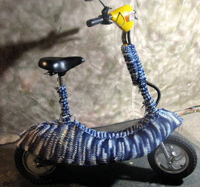 Lots of (K)nots! - Knited Electric Scooter by Cory Nelson